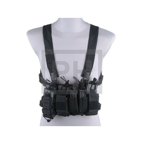 Fast chest rig - fekete