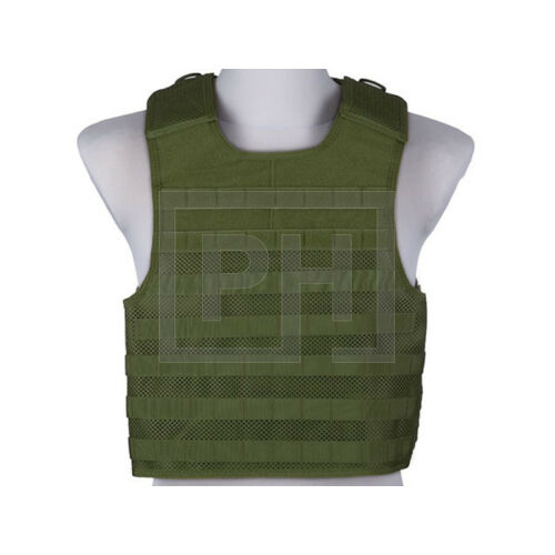 Light mesh plate carrier taktikai mellény - olive drab