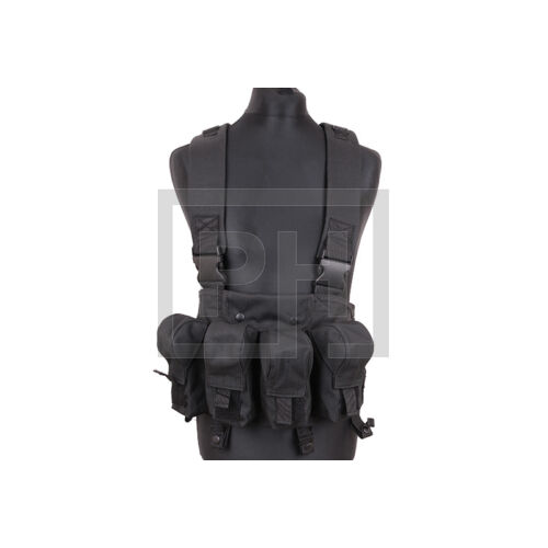 AK fix chest rig - fekete