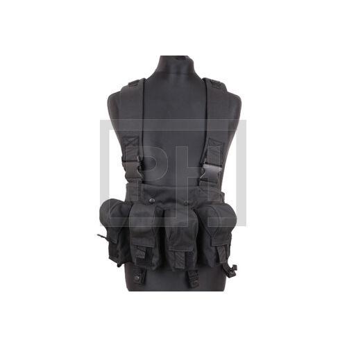 AK fix chest rig - fekete