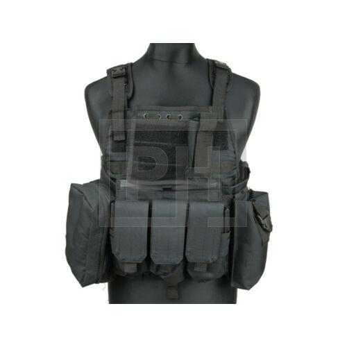 MBAV Plate Carrier taktikai mellény - fekete
