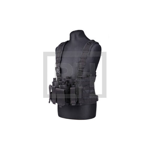 Scout chest rig - fekete