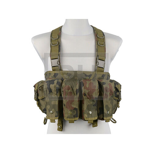 Commando chest rig - lengyel woodland