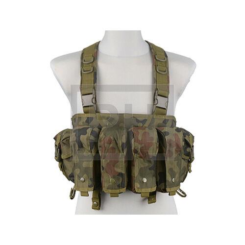 Commando chest rig - lengyel woodland