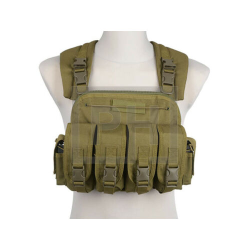 Commander chest rig - olive drab