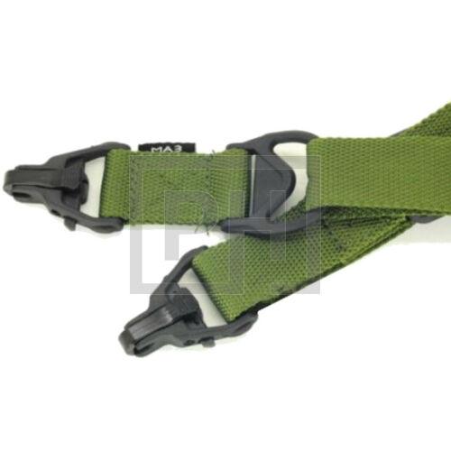 FMA MA3 Multi-Mission szimpla-2pontos fegyverszíj - olive drab