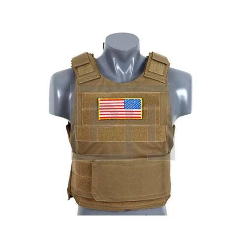 Delta Soft Body Armor - Tan
