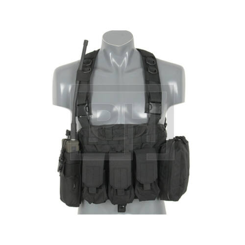 Force Recon chest rig - Fekete