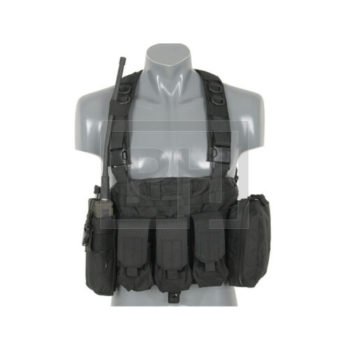 Force Recon chest rig RRV - Fekete