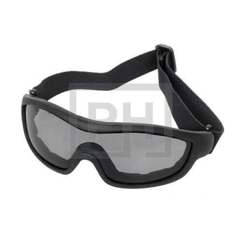 FA02 Ugró szemüveg - fekete/sötét