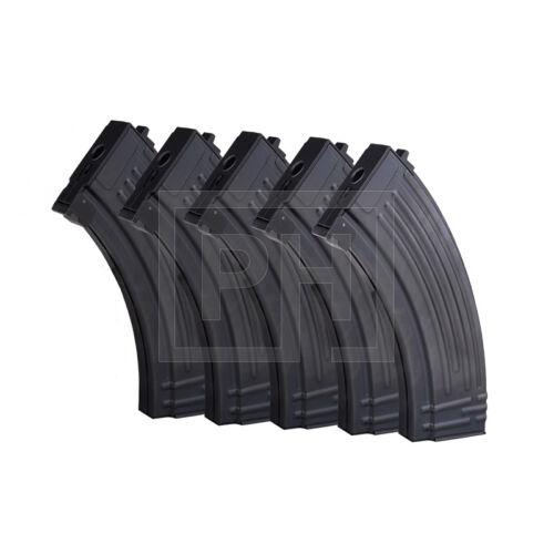 E&L AK47 Mid-cap tár 5db //120bb - fekete