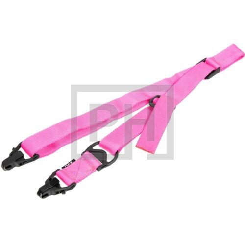 FMA MA3 szimpla-2pontos fegyverszíj - pink