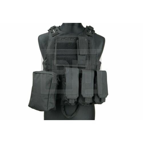 FSBE taktikai mellény - fekete