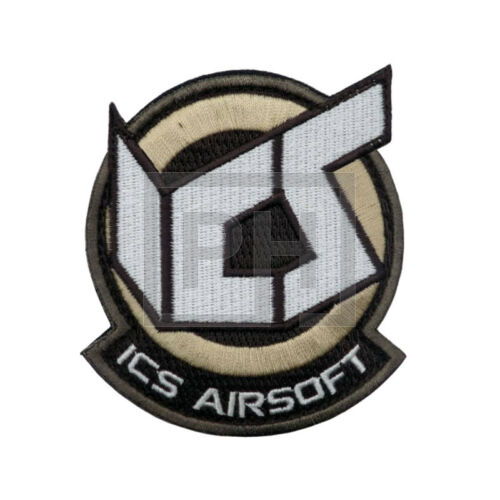 ICS Airsoft patch - barna