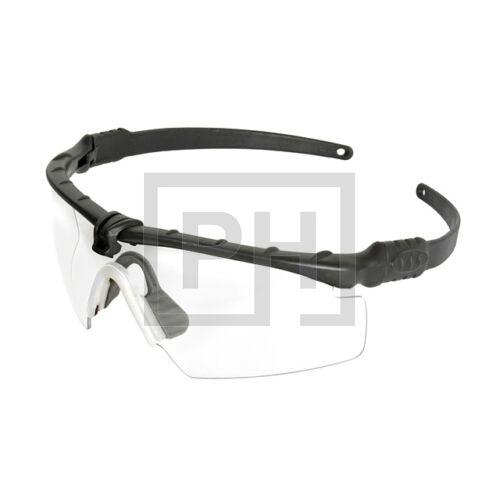 Modern taktikai szemüveg - fekete/víztiszta