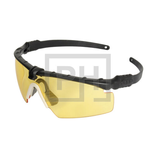 Modern taktikai szemüveg - fekete/sárga