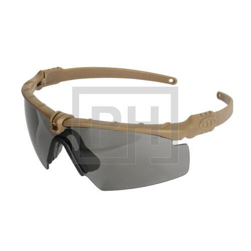 Modern taktikai szemüveg - tan/sötét