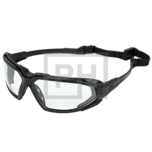 Pyramex Highlander szemüveg - fekete/víztiszta