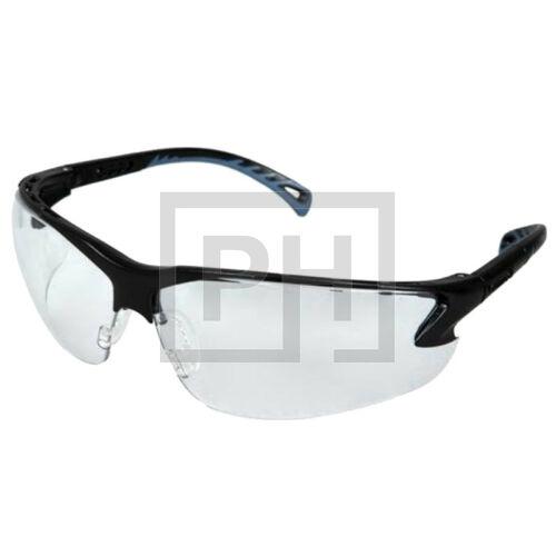 Pyramex Venture 3 Clear szemüveg - párásodásgátló réteggel, fekete/víztiszta