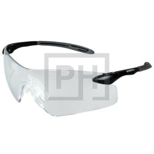 Pyramex Intrepid II szemüveg - fekete/víztiszta