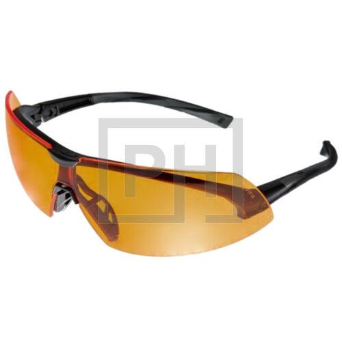 Pyramex szemüveg - fekete/narancs
