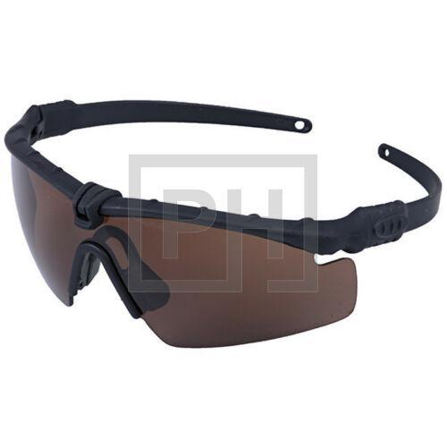 Ultimate Tactical szemüveg - fekete/barna