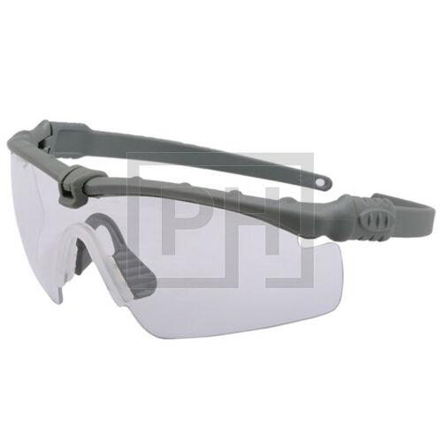 Modern taktikai szemüveg - szürke/víztiszta