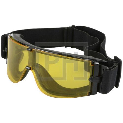 Ultimate Tactical X800 védőszemüveg - fekete/sárga