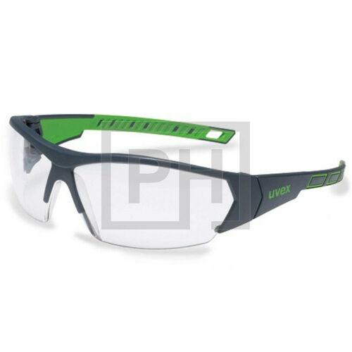 Uvex i-Works védőszemüveg - fekete-zöld/víztiszta