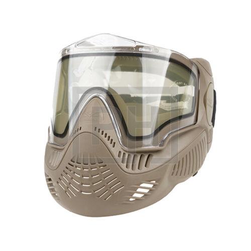Valken MI-7 védőmaszk - tan/víztiszta