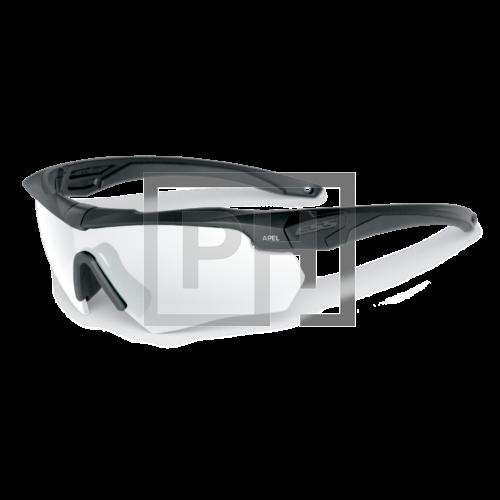 ESS Crossbow védőszemüveg - fekete átlátszó
