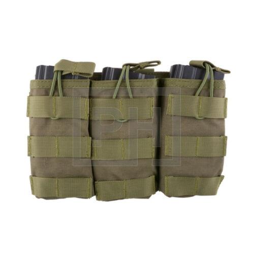 Tripla AK/M4/G36 tárzseb - Olive Drab