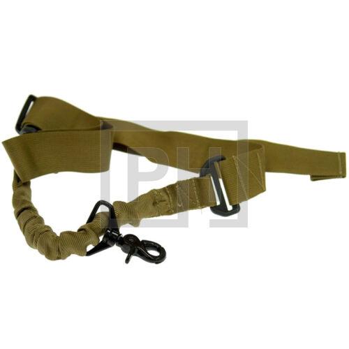 GFT 1-pontos bungee fegyverszíj - coyote