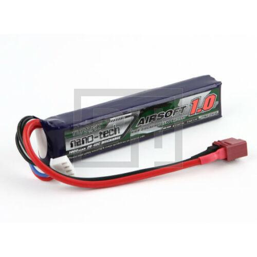 Turnigy nano-tech 1000mAh 3S 20-40C Lipo Airsoft Akku (T-connector)