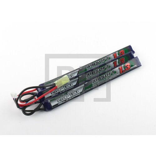 Turnigy nano-tech 1300mAh 3S 25-50C Lipo Airsoft Akku