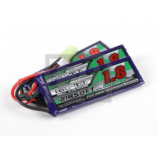 Turnigy nano-tech 1800mAh 3S 25-50C Lipo Airsoft Akku