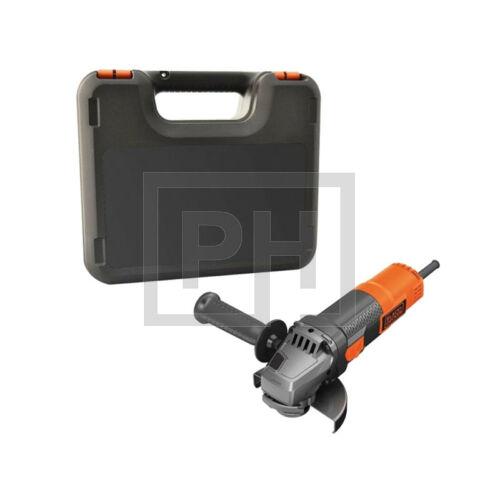 Black + Decker BEG220K-QS 900W, 125mm Sarokcsiszoló kofferben