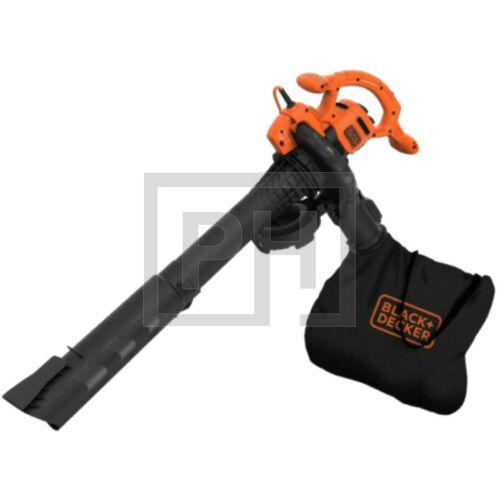 Black + Decker BEBLV260-QS 2600W 3in1 avartakarító gyűjtőzsákkal