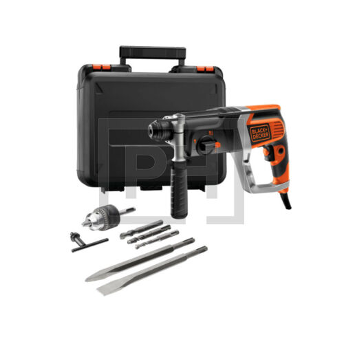 Black + Decker KD990KA-XK 2,4J 850W SDS-Plus fúrókalapács kofferben