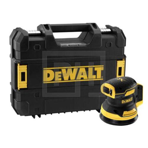 DeWalt DCW210NT-XJ 18V Excentercsiszoló kofferben akku és töltő nélkül