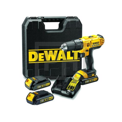 DeWalt DCD776C3-QW 18V XR Li-Ion ütvefúró-csavarozó pótakkuval kofferben