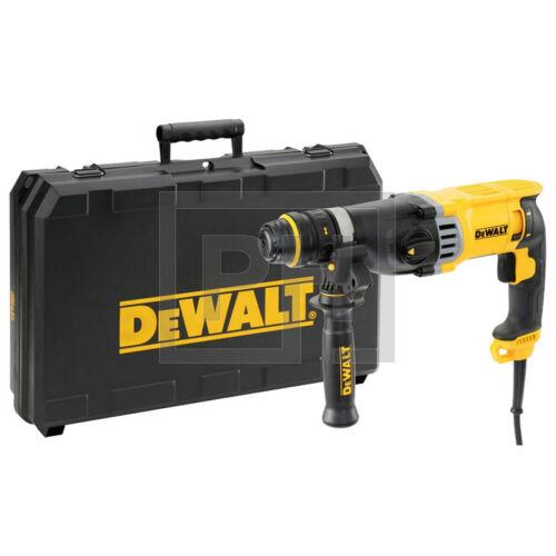 DeWalt D25144K-QS SDS-Plus fúrókalapács cseretokmánnyal kofferben