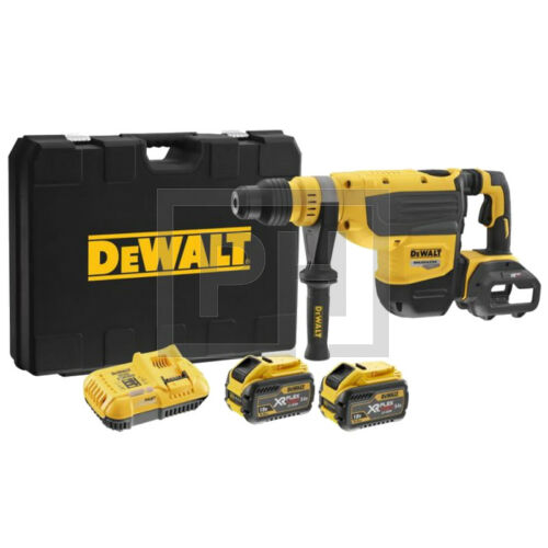 DeWalt DCH733X2-QW 54V XR Flexvolt SDS-Max fúrókalapács pótakkuval kofferben