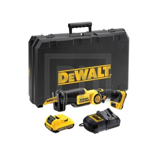 DeWalt DCS310D2-QW Orrfűrész pótakkuval kofferben