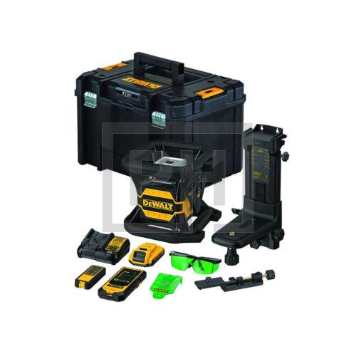 DeWalt DCE080D1GS-QW 18V XR Toolconnect zöld forgólézer