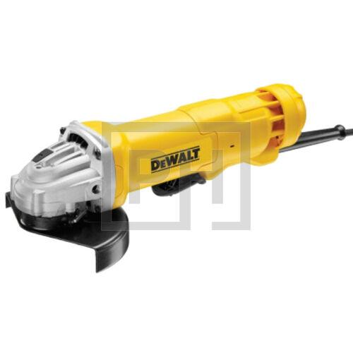 DeWalt DWE4233-QS 1400W, 125mm-es Sarokcsiszoló lapát kapcsolóval