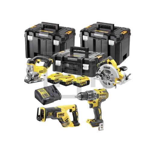 DeWalt DCK421P3T-QW 18V XR 4 gépes combopack 3 kofferrel