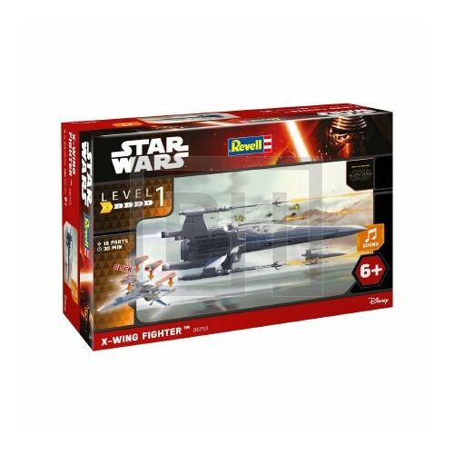 Revell Star Wars VII Build Play Ellenállás X-wing vadászgépe (6753)