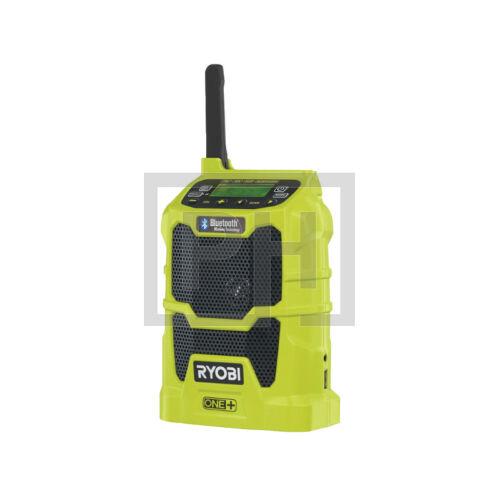 Ryobi R18R-0 18V MP3 Kompatibilis rádió Bluetooth® -al akkumulátor és töltő nélkül